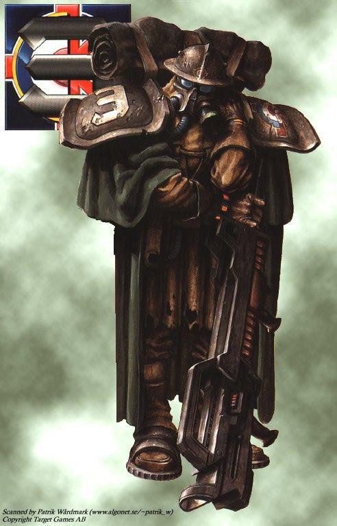 Soldados Steampunk Kr-grabenkaempfer